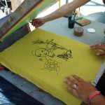 Serigraphie festival itinerances tsiganes etre libre 2