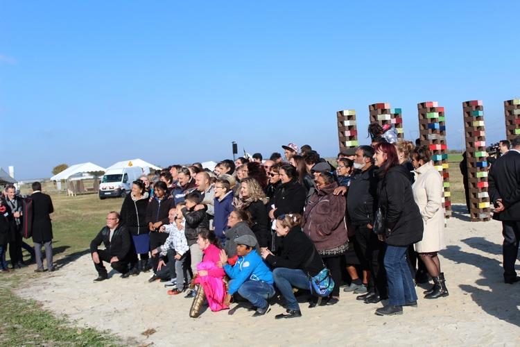 Ceremonie Montreuil-Bellay-2016 groupe Voyageurs