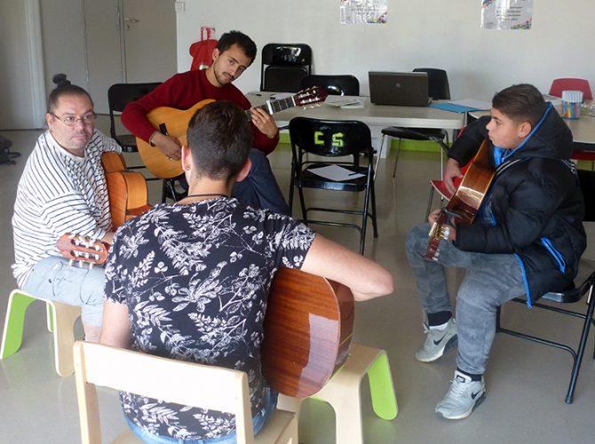 IT rencontre Gabi jeunes musiciens
